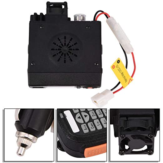 Easy-topbuy BJ-218 VHF/UHF Dual Banda Radio de Coche móvil Interphone del Coche Vehículo Transceptor con Programable por PC de Largo Alcance Pantalla ...