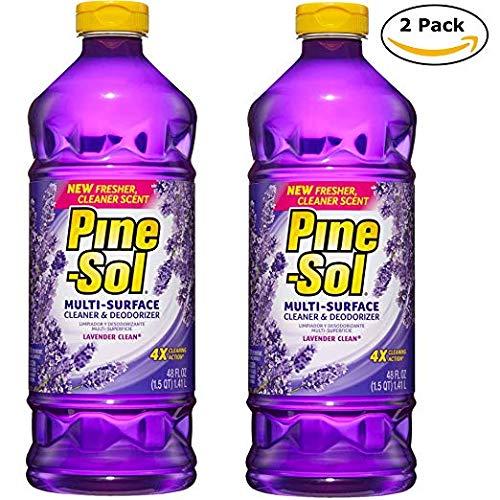 (2 Pk. Pine-Sol Lavender Scent Multi-Surface Cleaner 48 Fl. Oz (96 Fl. Oz Total))