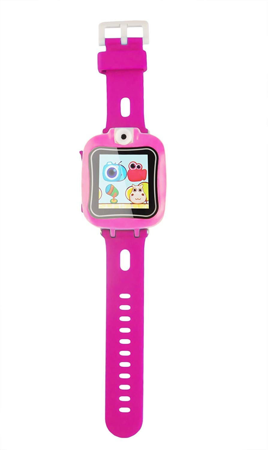 IREALIST Kids Smartwatch, Touchscreen Smart Watch with 90°Rotating Camera, Support Take Photos, Play Games, Video/Sound Recording,Timer, Alarm Clock by IREALIST (Image #3)