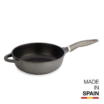 Valira SARTEN, Aluminio Fundido, Negro, 28 cm