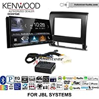 Volunteer Audio Kenwood DDX9704S Double Din Radio Install Kit with Apple Carplay Android Auto Fits 2012-2015 Toyota Tacoma with Amplified System