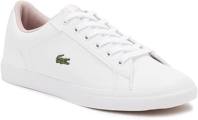 Lacoste Junior White/Pink Lerond S116