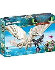 PLAYMOBIL 70038 Light Fury with Kids,Multi