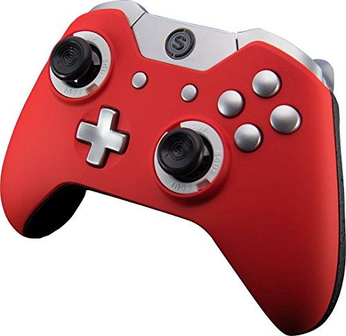 SCUF Infinity1 Red with Silver Trim Controller for Xbox One and PC by Scuf Gaming