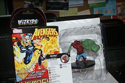RED HULK G014 Avengers Infinity Marvel HeroClix Colossal (Heroclix Hulk)
