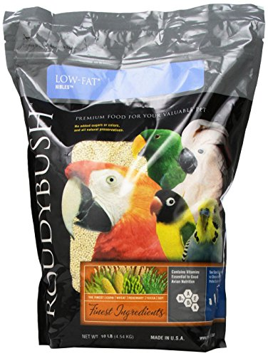 Roudybush Low Fat Bird Food, Medium, 10-Pound