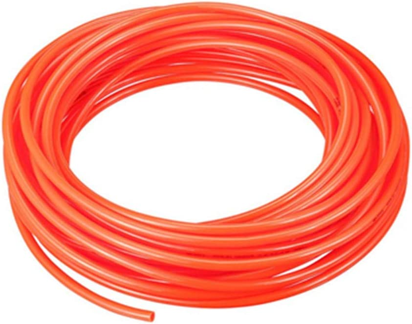 Pneumatic Hose 4 mm OD 2.5 mm ID Polyurethane PU air Hose Tube 10 m 32.8 ft Black Orange Black