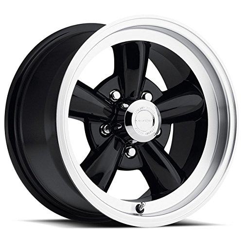 "UPC 886821148707, Vision 141 Legend 5 Gloss Black Machined Lip Wheel with Machined Finish (15x8""/5x127mm)"