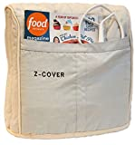 Best Mixer Cover For Tilt-Head Stand, Artisan and Classic Mixers - 100% Cotton, Z-Cover , Silver