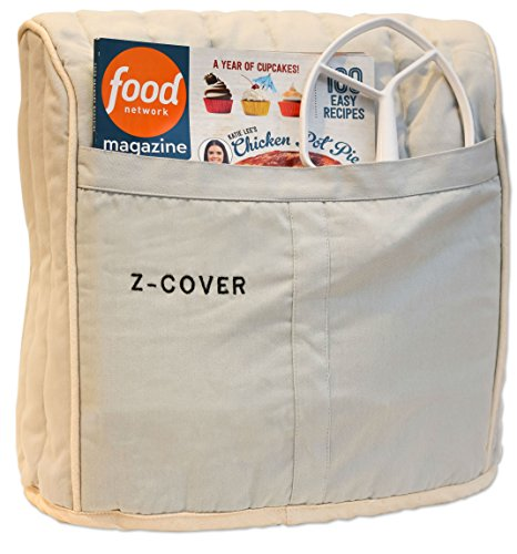 - Best Mixer Cover For Tilt-Head Stand, Artisan and Classic Mixers - 100% Cotton, Z-Cover , Silver