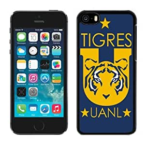 Unique DIY Designed Case For iPhone 5C With Soccer Club Tigres Uanl Football Logo Cell Phone Case WANGJING JINDA