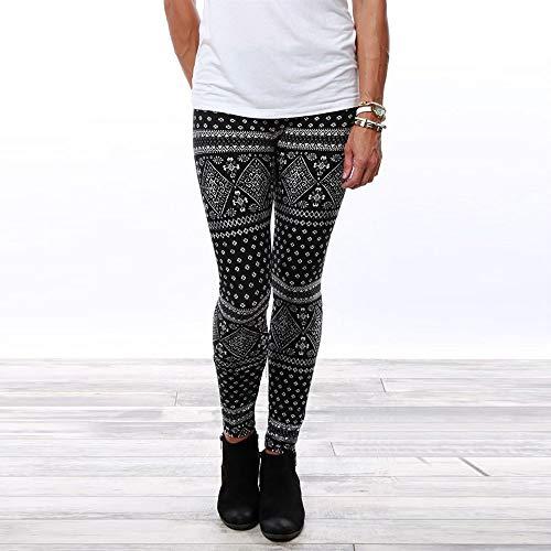 Skinny Noir Court de Jegging Femmes Leggings Slim Pantalon Combinaisons gomtrique MORCHAN Casual Stretch Lady Collants Jeans Knickerbockers Pantalon imprim qFtwxUzZx8