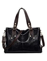 UTO Womens PU Leather Smooth Roomy Shoulder Bag Crossbody Handbags