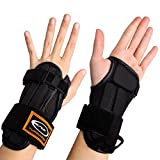 Andux 1 Pair Ski Wrist Brace Skate Wrist Protector HXHW-02 (S)