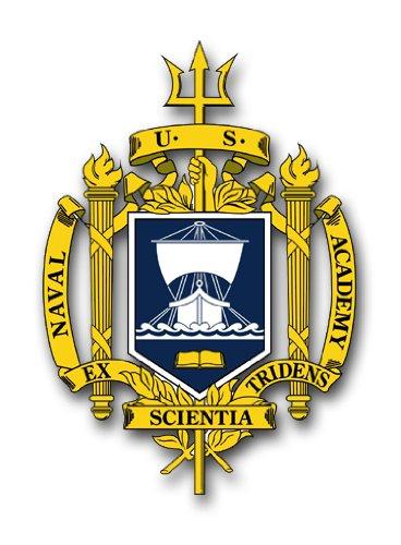 Naval Car Academy - MilitaryBest US Navy Naval Academy Decal Sticker 3.8
