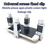 Fixparts 4Pcs Multi-functional creativity Adjustable Plastic Clip Fixture LCD Digitizer Screen Fastening Clamp for iPad