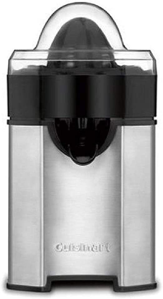 Amazon Com Cuisinart Ccj 500 Pulp Control Citrus Juicer Brushed Stainless Black Stainless 1 Piece Electric Citrus Juicers Kitchen Dining