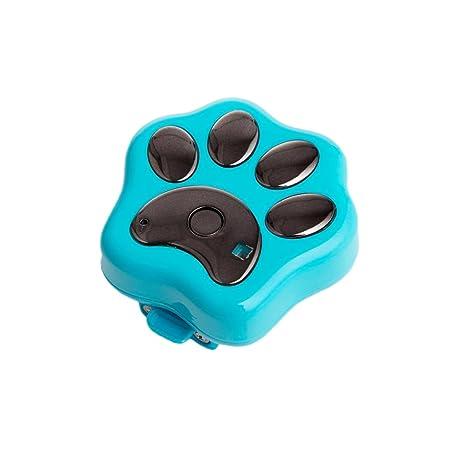Gazechimp Rf-v30 GPS de Mascotas Impermeable Wifi Localizador de Perros de Gatos Collar de