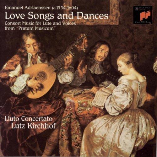 Emanuel Adriaenssen: Love Songs and Dances from