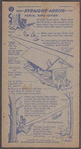 Nabisco Straight Arrow Card Book 2 #27 Aerial Bird-Diner ()
