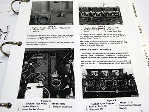 Ford 1920 2120 tractor service manual ford motor company amazon ford 1920 2120 tractor service manual ford motor company amazon books fandeluxe Choice Image