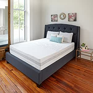 Classic Brands Engage Gel Memory Foam and Innerspring Hybrid 11-Inch Mattress, California King