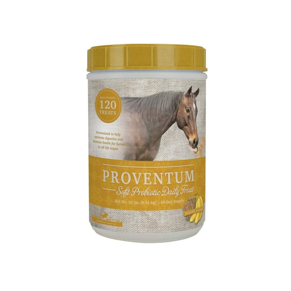 Omega Fields Proventum, 32 Ounces, Soft Probiotic Daily Treat for Horses