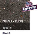 how to stain concrete floors Ameripolish Dye Classic Solvent Based Concrete Dyes (1 Gallon, Black)