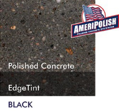 Ameripolish Dye Classic Solvent Based Concrete Dyes (1 Gallon, Black)