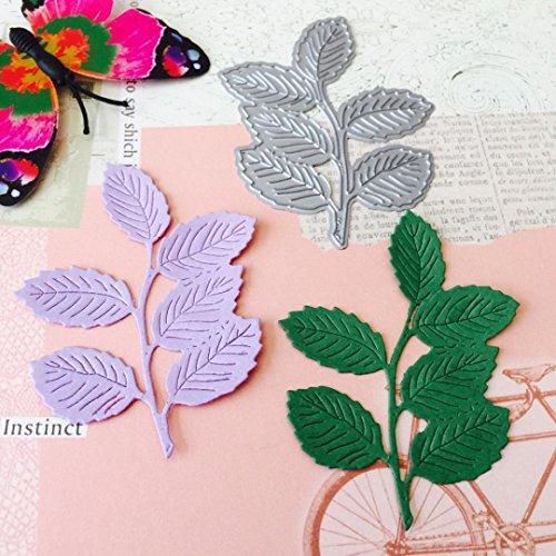 Cutting Dies,Yanvan New Metal Cutting Dies Flowers Heart Stencils DIY Scrapbooking Album Paper Hand Making Card Craft Art (E) ()