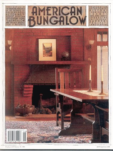 (American Bungalow Magazine Winter 2005, Issue 48)
