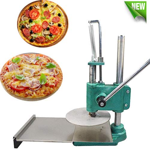 INTBUYING 8.7inch Manual Pizza Dough Press Machine Pastry Press Premade Pizza Dough Pizza Presser by INTBUYING