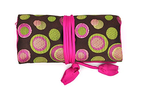 isuperbr-travel-jewelry-roll-polka-dot-with-silk-embroidery-brocade-elegant-and-bold-travel-jewelry-