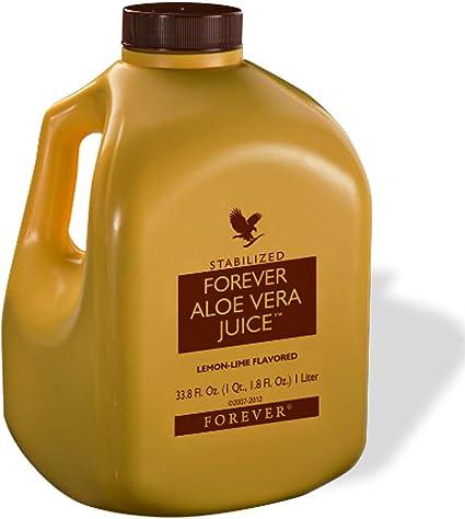 Forever Living Aloe Vera Jugo 33 8 Oz Con Sabor A Lima Limón Health Personal Care