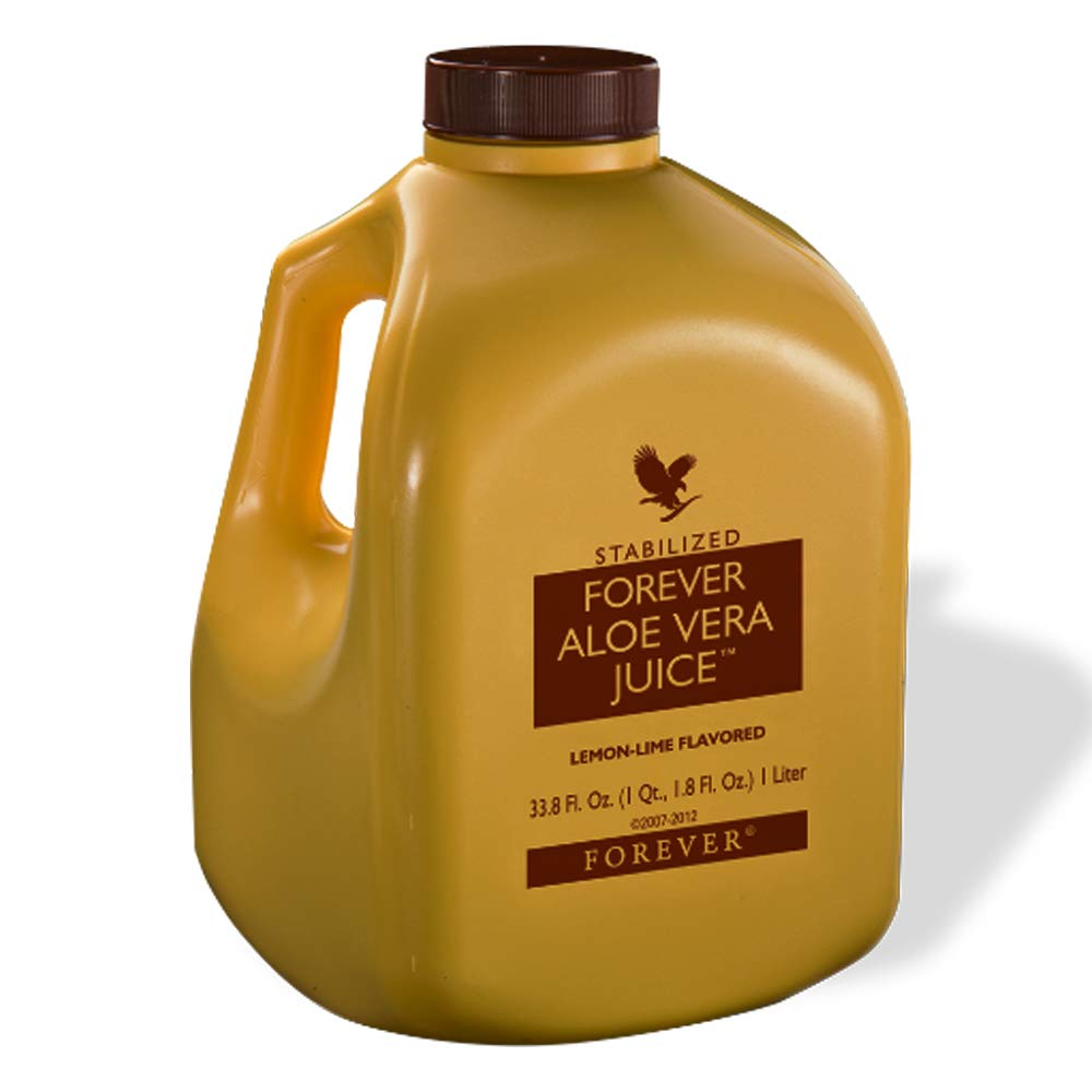 Forever Living Aloe Vera Juice 33.8 Oz., lemon-lime flavored