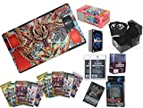 Cardfight Vanguard Combo Pack w/ Booster Box Supplies Playmat Boosters plus more