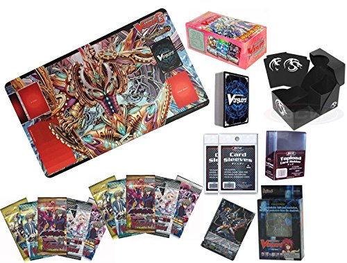 Cardfight Vanguard Combo Pack w/ Booster Box Supplies Playmat Boosters plus more by Yu-Gi-Oh!