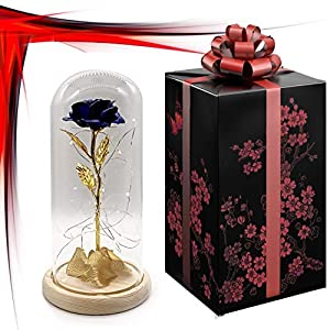 ROYALCRAFT FINERY Shire Beauty and The Beast Full kit, Flower Glass Dome 82