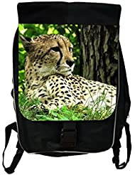 Cheetah Lea Elliot TM School Backpack