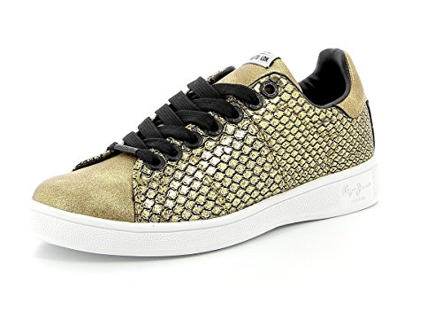 Pepe Jeans London Baskets Brompton Snake or Golden