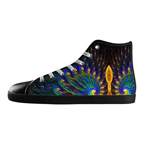 Dalliy sch?ne pfau Womens Canvas shoes Schuhe Footwear Sneakers shoes Schuhe D
