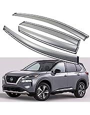 SPEEDLONG Car Window Visor Vent Shade Deflector Sun/Rain Guard Compatible with 2021-2022 Nissan Rogue