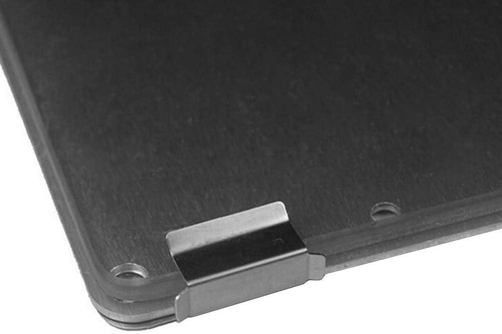 Pinza de fijaci/ón para plataforma de cama caliente Aibecy 4 unidades, acero inoxidable, para impresora 3D Ultimaker 2 Creality 10 Ender 3 E12 A8 A6