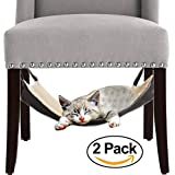 Cat Hammock Bed - City Kitty - Hanging Soft Pet Bed Use with Crate, Cage or Chair For Kitten, Ferret, Puppy, or Small Pet By Le Fur