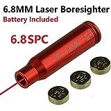 Field Sport 6.8 SPC Laser Bore Sighter Boresighter For AR15 6.8 SPC, Aluminum Red Finish