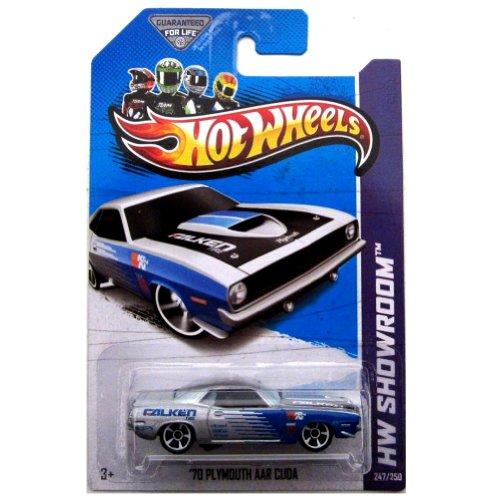 Hot Wheels HW Showroom 247/250 '70 Plymouth AAR Cuda Blue and Grey