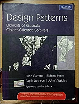 Buy Design Patterns Elements Of Reusable Object Oriented Software Book Online At Low Prices In India Design Patterns Elements Of Reusable Object Oriented Software Reviews Ratings Amazon In