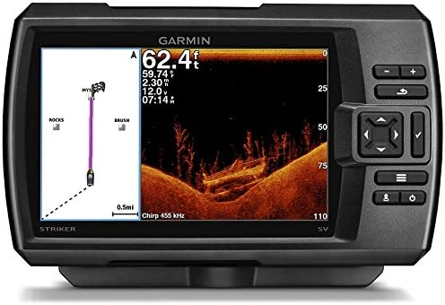 Garmin 010 – 01553 – 01 Striker 7DV, Worldwide Fishfinder: Amazon ...