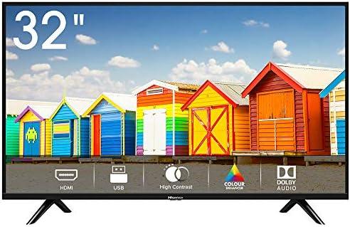 Hisense H32BE5000 TV LED HD 32″, USB Media Player, Tuner DVB-T2/S2 HEVC Main10 [Esclusiva Amazon – 2019]