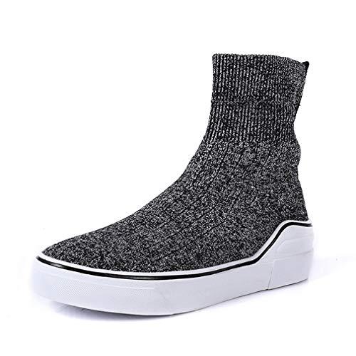 Cruzado Zapatos Otoño Segundo Para Calcetines Calzado Yan botines Elásticos Señora Fitness Primavera Entrenamiento Botas De Y Botas Mujer Punto a8gA1q